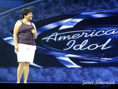 Photo illustrating <font size=1>Disney Hollywood Studios-American Idol