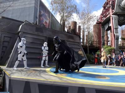 Photo illustrating <font size=1>Hollywood Studios - Jedi Training Academy