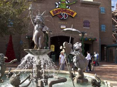 Photo illustrating <font size=1>Disney Hollywood Studios - Muppet 3D