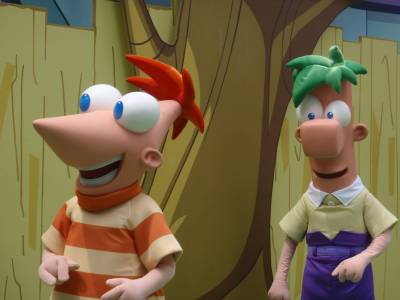 Photo illustrating <font size=1>Phineas and Ferb