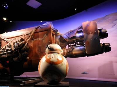 Photo illustrating Star Wars Launch Bay