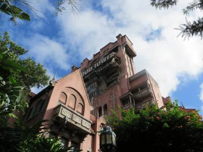Photo illustrating <font size=1>Hollywood Studios - Tower of Terror