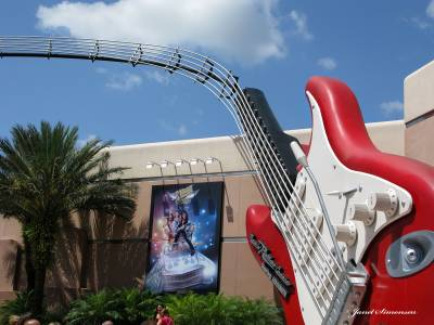 Photo illustrating Disney Hollywood Studios-Rockin Roller Coaster