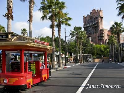 Photo illustrating <font size=1>Disney Hollywood Studios- Sunset Blvd.