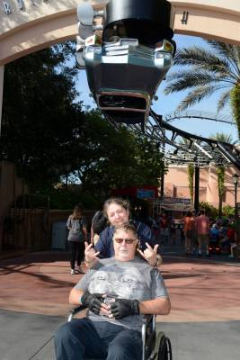 Photo illustrating Rock N Roller Coaster
