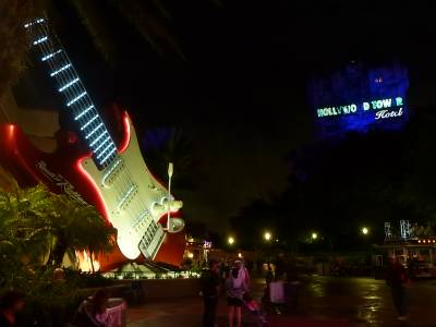 Photo illustrating <font size=1>Hollywood Studios-Rock n Roller Coaster Tower of Terror