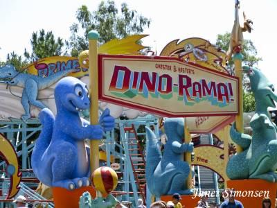 Photo illustrating <font size=1>Animal Kingdom - Dinoland