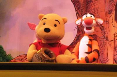 Photo illustrating <font size=1>Playhouse Disney Pooh