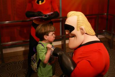 Photo illustrating Hollywood Studios - Letting Mr. Incredible Have It