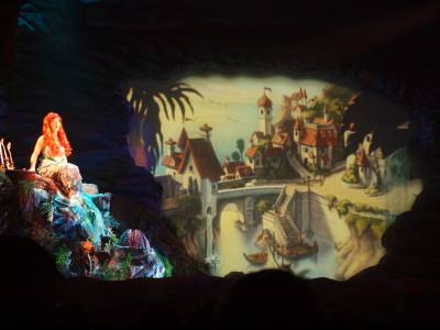 Disneys Hollywood Studios Ariel In Voyage Of The Little Mermaid Passporter Photos