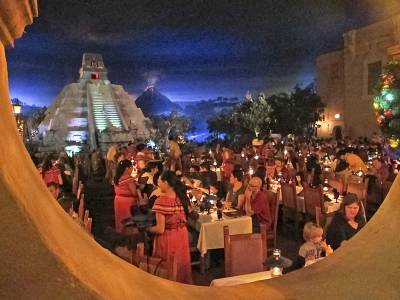 Photo illustrating Epcot -Mexico San Angel Inn