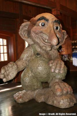 Epcot Norway Troll Passporter Photos