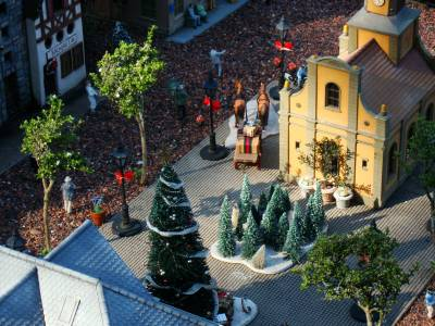 Photo illustrating Epcot - Germany model railway