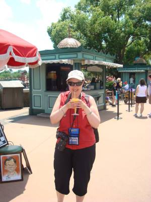 Epcot - a Grand Marnier Slush in France photo