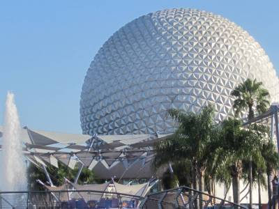 Photo illustrating <font size=1>Beautiful day in Epcot