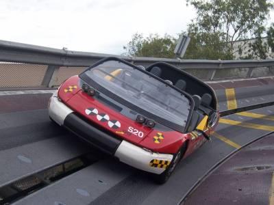 Photo illustrating <font size=1>Epcot - Test Track Evacuation