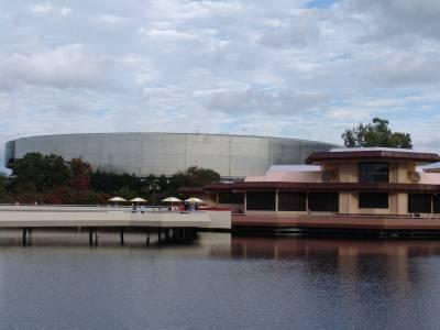 Photo illustrating <font size=1>Epcot - Test Track and Odyssey Pavilion