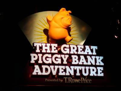 Epcot - Great Piggy Bank Adventure