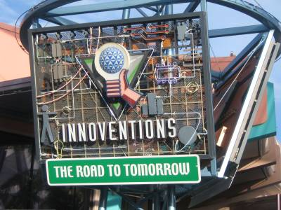 Photo illustrating <font size=1>Epcot - Innoventions