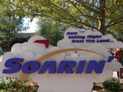 Photo illustrating EPCOT - Future World - Soarin