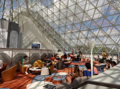 Photo illustrating DVC Member Lounge