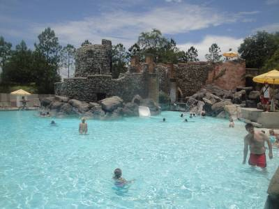 Pool at Portofino Bay photo