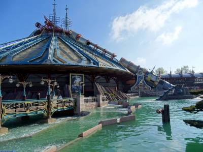 Photo illustrating Disneyland Paris - Discoveryland