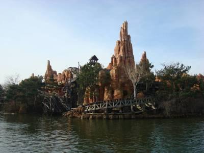 Photo illustrating <font size=1>Disneyland Paris - Big Thunder Mountain
