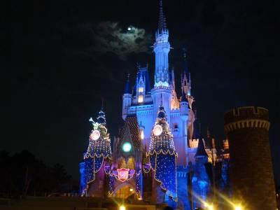Photo illustrating <font size=1>Tokyo Disneyland - Cinderella Castle