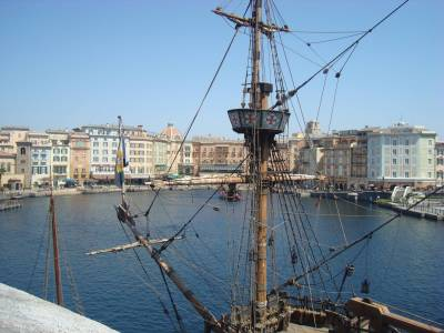 Photo illustrating Tokyo DisneySea - Renaissance sailing ship