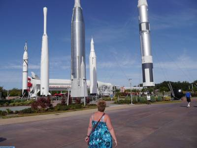 Photo illustrating Rocket garden
