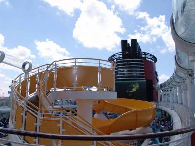 Disney Dream - Aquaduck and slide photo