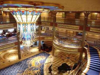 Disney Dream - atrium photo