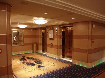 Disney Dream Aft Elevators Passporter Photos