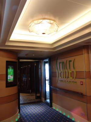 Disney Dream - Senses Spa entrance