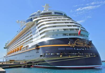 Photo illustrating <font size=1>Disney Dream From Astern