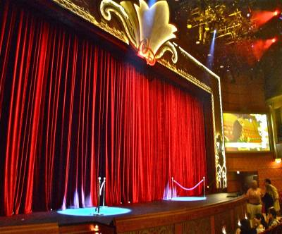 Photo illustrating Proscenium of the Walt Disney Theatre