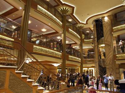 Disney Dream - The Glittering Lobby Atrium photo