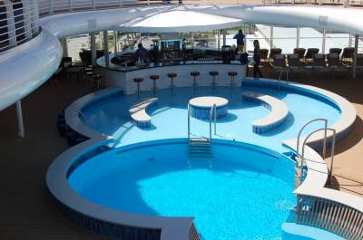 Photo illustrating Quiet Cove Pool and Bar