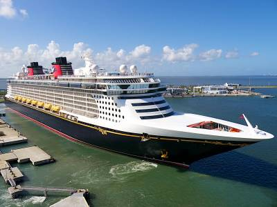 Photo illustrating Disney Dream Departs Port Canaveral