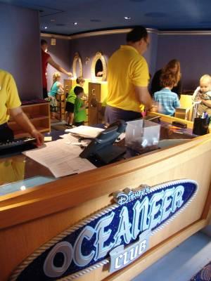 Photo illustrating <font size=1>Disney Dream - Oceaneer Club
