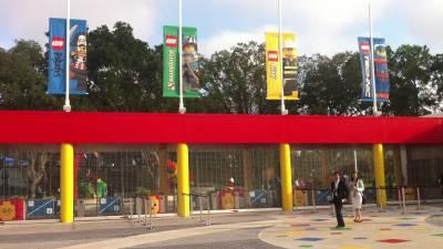 Photo illustrating <font size=1>Peaceful Gates at LEGOLAND Florida