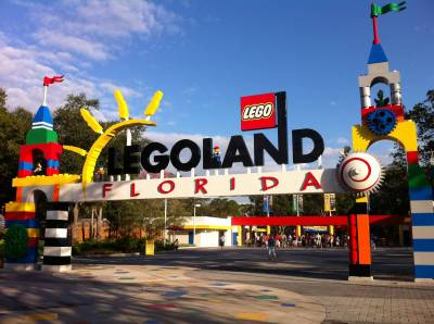 Photo illustrating LEGOLAND Florida Gates