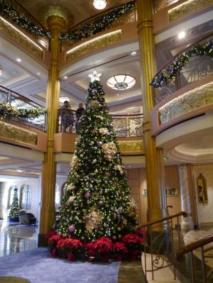 Photo illustrating Disney Fantasy - Christmas tree