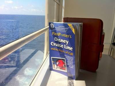 Photo illustrating <font size=1>Disney Cruise Guidebooks