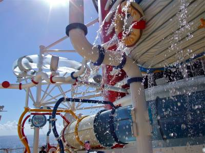AquaLab Water Play Area on the Disney Fantasy photo