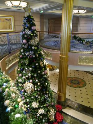 Disney Fantasy - Christmas tree photo