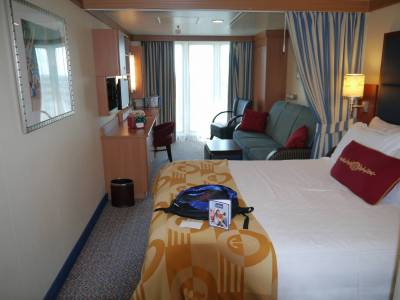 Disney Fantasy - category 4D stateroom photo