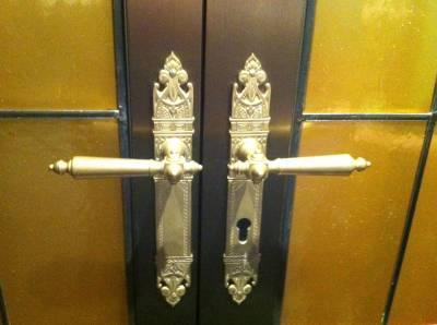 Photo illustrating Doors inside Ooh La La on the Disney Fantasy