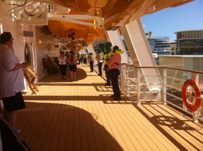 Safety Drill on Disney Fantasy photo